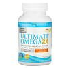 Nordic Naturals, Ultimate Omega 2X with Vitamin D3, Lemon, 60 Softgels