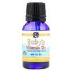 Nordic Naturals, Baby's Vitamin D3, 400 I.U., 0.37 fl oz (11 ml)