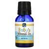 Nordic Naturals, Baby's Vitamin D3, 400 IU, 0.37 fl oz (11 ml)