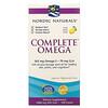 Nordic Naturals, Complete Omega, Limão, 1000 mg, 120 Cápsulas Softgel