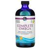 Nordic Naturals, Complete Omega, Lemon , 16 fl oz (473 ml)