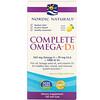 Nordic Naturals, Complete Omega-D3, Lemon, 1,000 mg, 120 Soft Gels