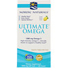 Nordic Naturals, Ultimate Omega, Lemon, 1,280 mg, 120 Soft Gels (Discontinued Item)