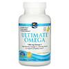 Nordic Naturals, Ultimate Omega, Lemon, 1,280 mg, 120 Soft Gels