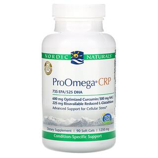 Nordic Naturals, ProOmega CRP, 1,250 mg, 90 Soft Gels