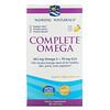 Nordic Naturals, Complete Omega, Lemon, 180 Soft Gels