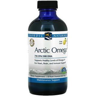 Nordic Naturals, Arctic Omega, Lemon, 8 fl oz (237 ml)