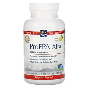 нордик Натуралс, ProEPA Xtra, Lemon, 1,000 mg, 120 Soft Gels отзывы