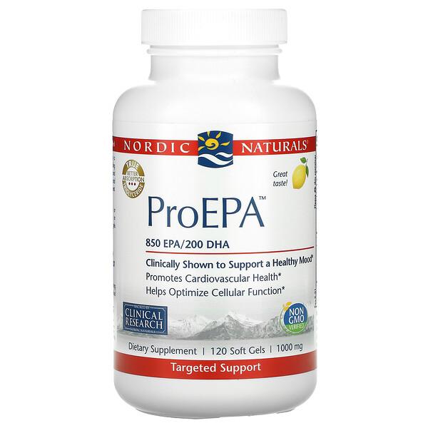 ProEPA, Lemon, 1,000 mg, 120 Softgels