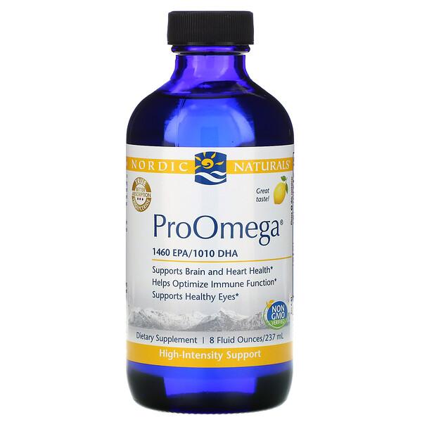 ProOmega, Sabor Limão, 8 fl oz (237 ml)