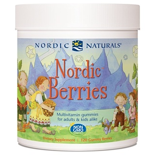 Nordic Naturals, Nordic Berries, Multivitamin Gummies, 120 Gummies
