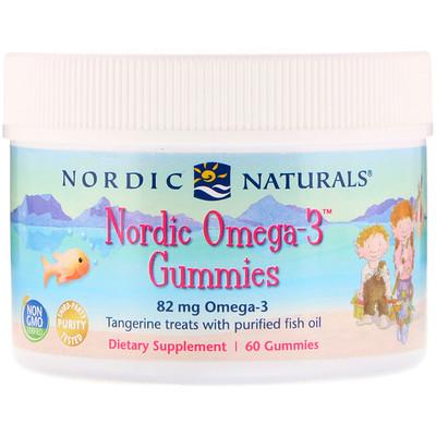 Nordic Naturals 北歐Omega-3凍魚油,橘子味兒,60凍魚油