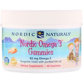 Nordic Naturals, قطع الأوميغا 3 الشمالية، للعلاج اليوسفي، 60 قطعة