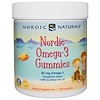 Nordic Naturals, Nordic Omega-3 Gummies, Tangerine Treats, 120 Gummies