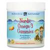 Nordic Naturals, Nordic Omega-3 Gummies, Tangerine Treats, 82 mg, 120 Gummies