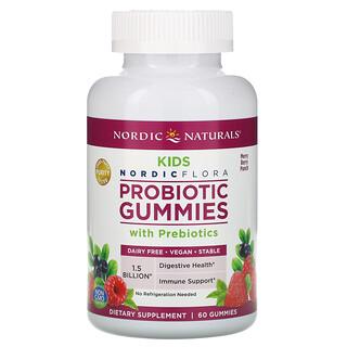 Nordic Naturals, Probiotic Gummies Kids, Merry Berry Punch, 60 Gummies