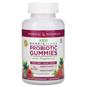 нордик Натуралс, Probiotic Gummies Kids, Merry Berry Punch, 60 Gummies отзывы покупателей