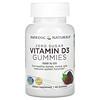 Nordic Naturals, Zero Sugar Vitamin D3 Gummies, Wild Berry, 25 mcg (1,000 IU), 60 Gummies