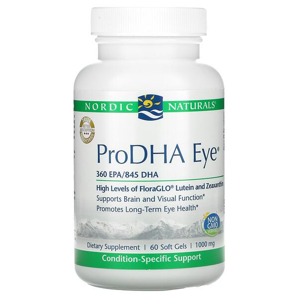 ProDHA Eye, 500mg, 소프트젤 60정
