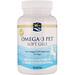 Кислоты омега-3 для домашних животных в гелевых капсулах, для собак, 90 гелевых капсул - изображение