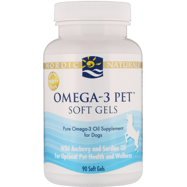Omega-3 Pet, Soft Gels, For Dogs, 90 Soft Gels