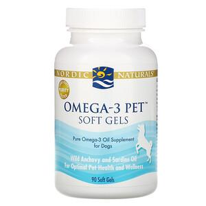 нордик Натуралс, Omega-3 Pet, Soft Gels, For Dogs, 90 Soft Gels отзывы покупателей