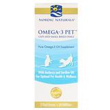 Отзывы о Nordic Naturals, Омега-3 для питомцев, для кошек и небольших собак, 2 жидких унции (60 мл)