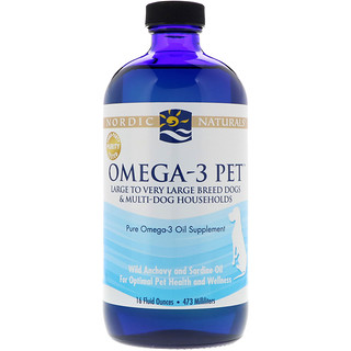Nordic Naturals, Omega-3 Pet, 16 fl oz (473 ml)