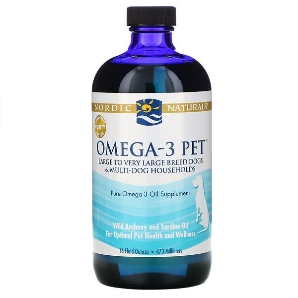 Nordic Naturals, Omega-3 Pet, 16 fl oz (473 ml)