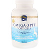 Nordic Naturals, Omega-3 Pet, Soft Gels, for Dogs, 180 Soft Gels