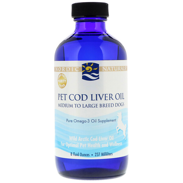 Nordic Naturals, Pet Cod Liver Oil, 8 fl oz (237 ml) (Discontinued Item)