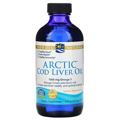 Nordic Naturals, 北極鱈魚肝油,8 液量盎司(237 毫升)