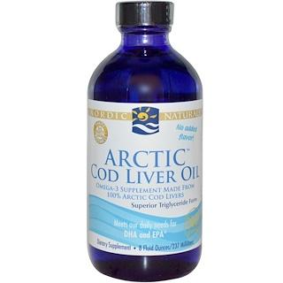 Nordic Naturals, Arctic Cod Liver Oil, 8 fl oz (237 ml)