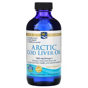 нордик Натуралс, Arctic Cod Liver Oil, 8 fl oz (237 ml) отзывы покупателей