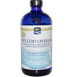 Nordic Naturals, Pet Cod Liver Oil, 16 fl oz (473 ml)
