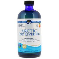 Arctic Cod Liver Oil, Orange, 16 fl oz (437 ml) - фото
