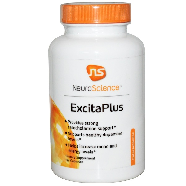 NeuroScience, Inc., ExcitaPlus, 120 Capsules (Discontinued Item)