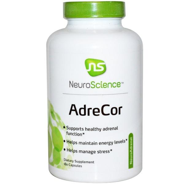 NeuroScience, AdreCor, 180 Capsules (Discontinued Item)