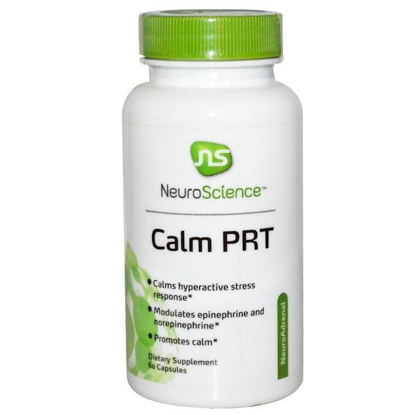 NeuroScience, Inc., Успокаивающее PRT, 60 капсул (Discontinued Item)