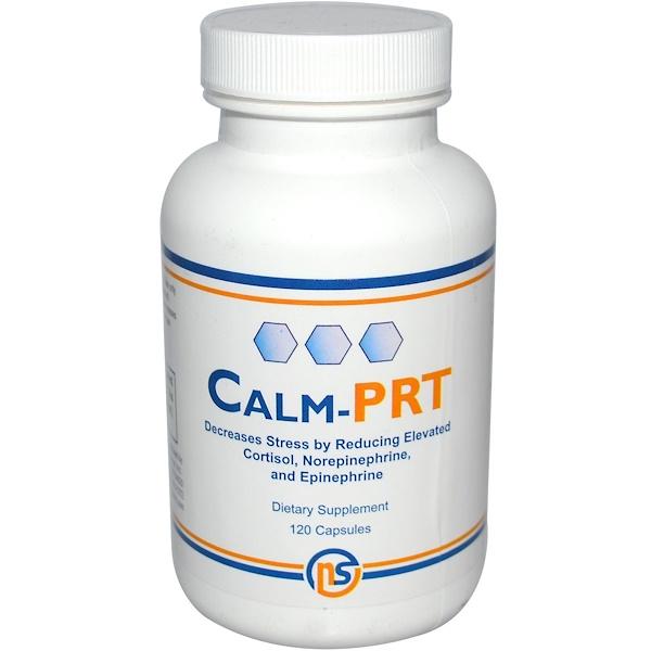 NeuroScience, Inc., Calm-PRT, 120 Capsules (Discontinued Item)
