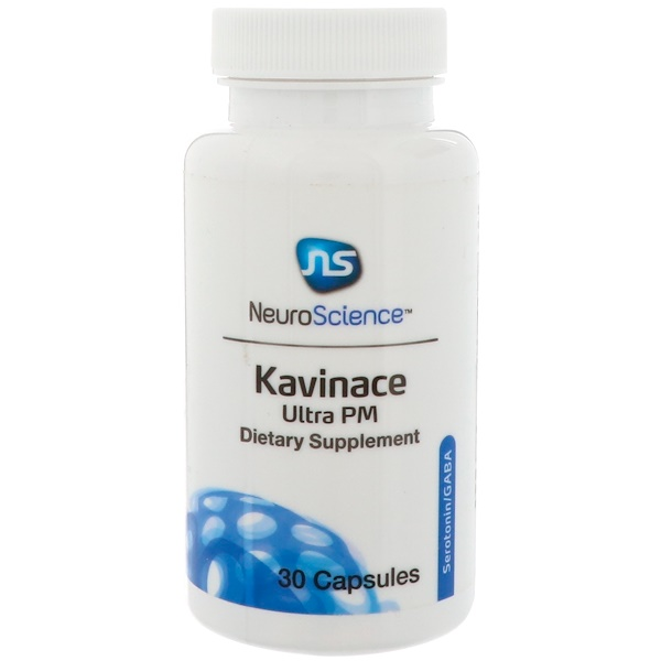 NeuroScience, Kavinace Ultra PM, 30 Capsules