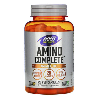 Now Foods, Amino Complete, Amino Acids, 120 Veg Capsules