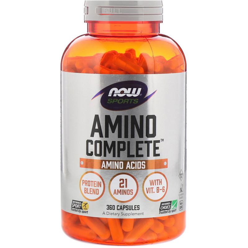 Sports, Amino Complete, 360 Capsules