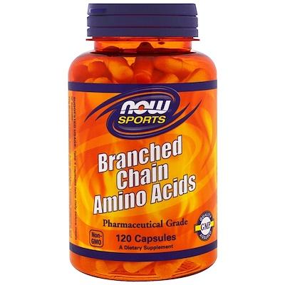 Спортивное питание с содержанием аминокислот с разветвленной цепью, 120 капсул