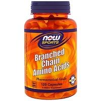 Спортивное питание с содержанием аминокислот с разветвленной цепью, 120 капсул - фото