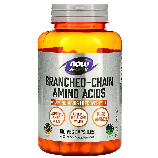 Now Foods, Sports, Branched Chain Amino Acids, 120 Capsules