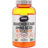 Отзывы о Now Foods, Спорт, аминокислоты с разветвлёнными цепями, 240 капсул