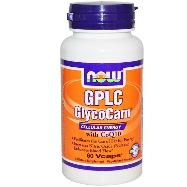Now Foods, GPLC Гликокарн, 60 вегетарианских капсул (Discontinued Item)