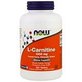 Отзывы о Now Foods, L-карнитин, 1000мг, 100таблеток