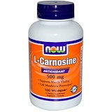 Отзывы о Now Foods, L-карнозин, 500мг, 100растительных капсул